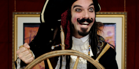Spectacle Paradoxe le pirate